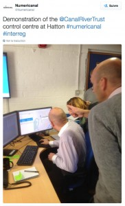 CRT's EU Numericanal partners see how the new control centre at Hatton facilitates deployment and repairs over a hundreds of kilometres of canals